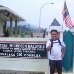 Berkunjung ke Daerah Perbatasan Indonesia – Malaysia di PPLB Desa Aruk, Kecamatan Sajingan Besar, Sambas